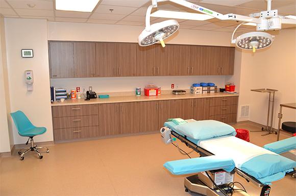Baltimore location procedure room